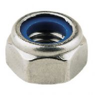 Zinc Plated Nyloc Nuts - Pack of 5